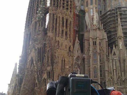 Atentados en Barcelona. Visita de los Reyes a la Sagrada Familia.