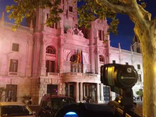 Día mundial de la niña. Once edificios emblemáticos de toda España se tiñen de rosa.