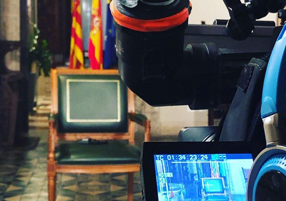 Mensaje de Ximo Puig durante el Estado de Alarma por el Coronavirus en el Palau de la Generalitat