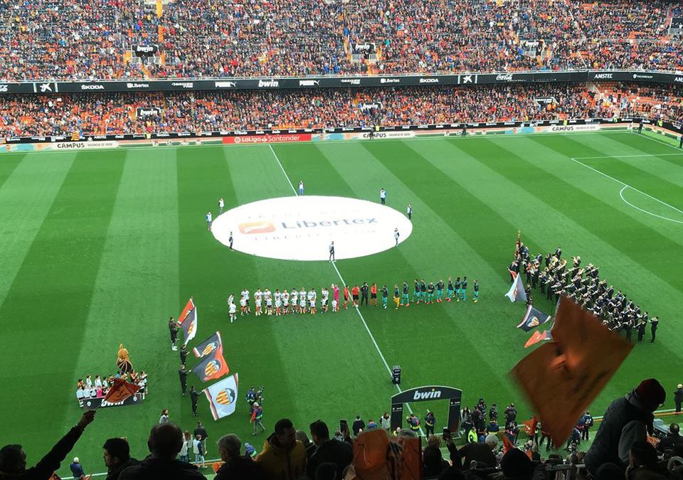 Mestalla. Valencia vs Barcelona