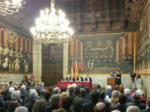 Palau de la Generalitat Valenciana en los Premios Convivencia de la Fundación Manuel Broseta